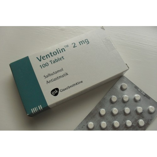 VENTOLIN TABLETS 2 MG