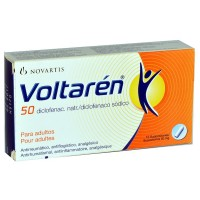 VOLTAREN 50 MG SUPPOSITORIES