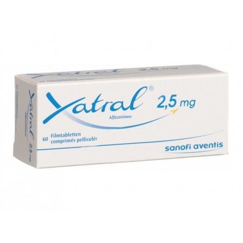 XATRAL 2.5 MG