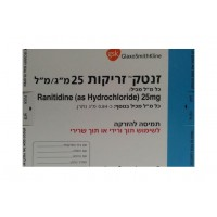 ZANTAC INJECTION 25 MG/ML