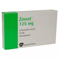 ZINNAT TABLETS 125 MG