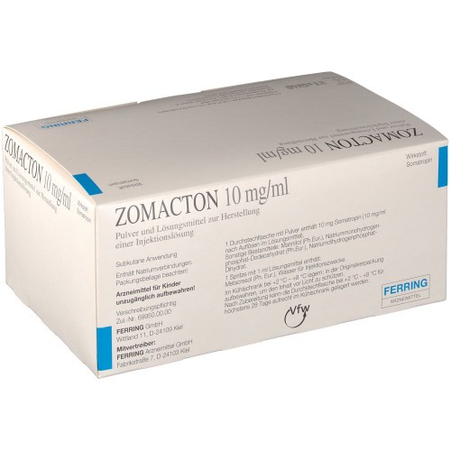 ZOMACTON 10 MG