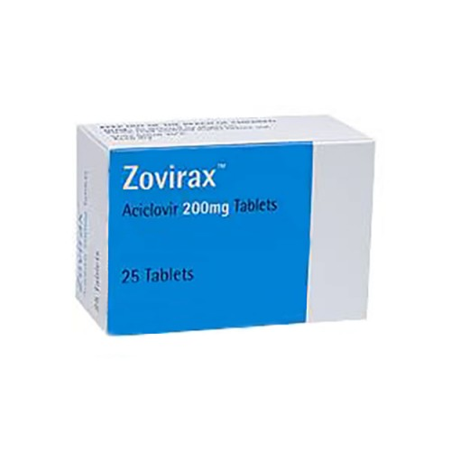 ZOVIRAX TABLETS 200 MG