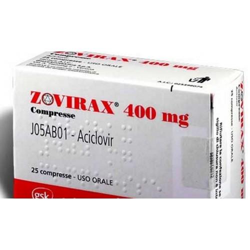 ZOVIRAX TABLETS 400 MG
